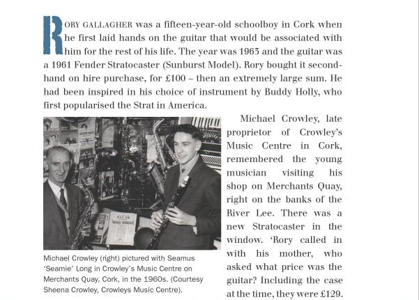 Marcus Connaughton - Rory Gallagher: His Life and Times Image335