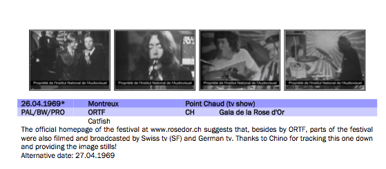Gala de la Rose d'Or - Montreux, Suisse, 27 avril 1969 (DVD) - Page 2 Image_47