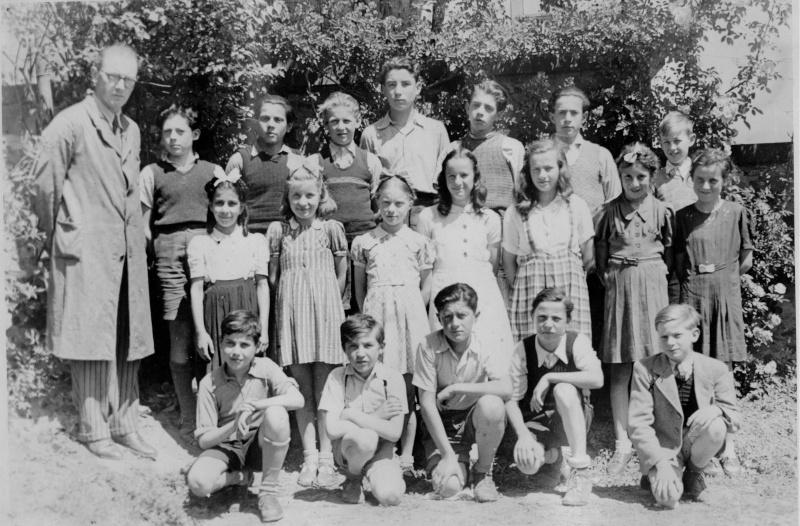 Les maîtres et maîtresses des écoles de Wangen 194710