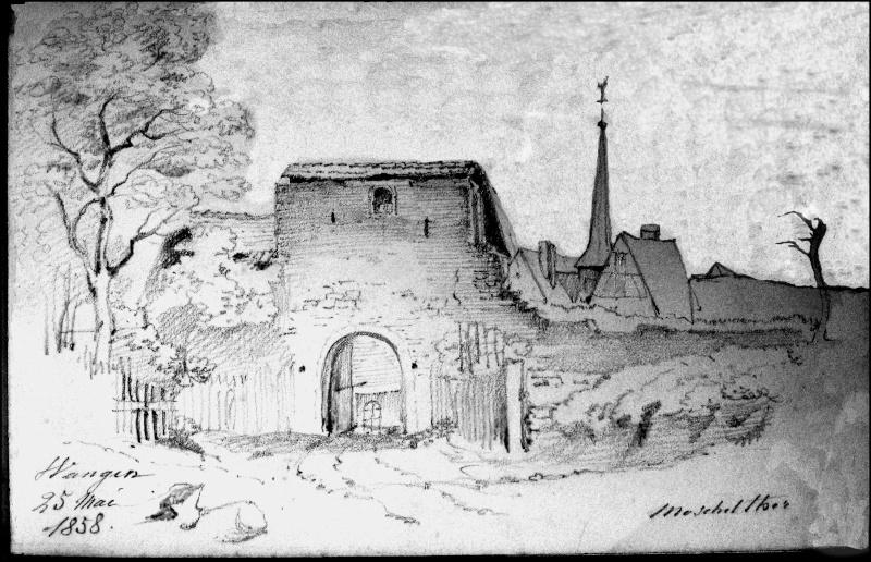 Images et gravures anciennes de Wangen Mostch10