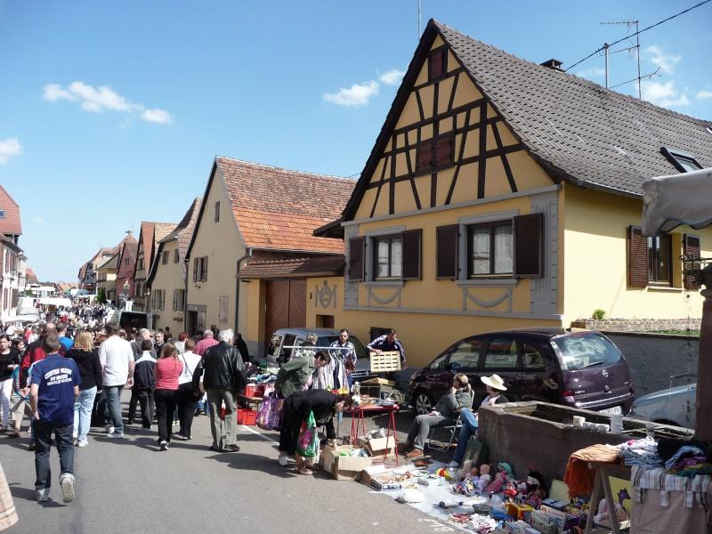 Marché aux puces du 13 mai 2012 à Westhoffen P1080613