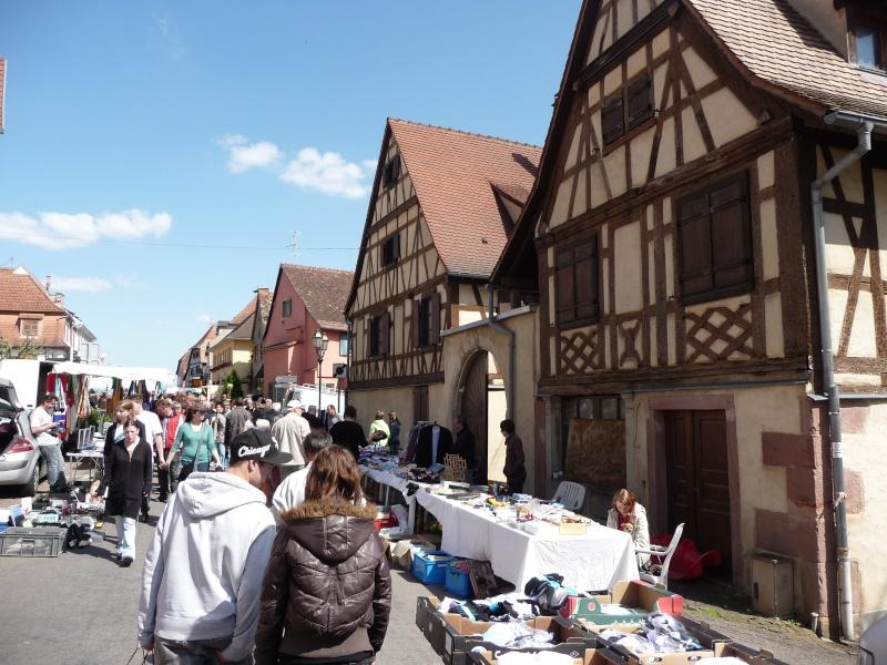 Marché aux puces du 13 mai 2012 à Westhoffen P1080615