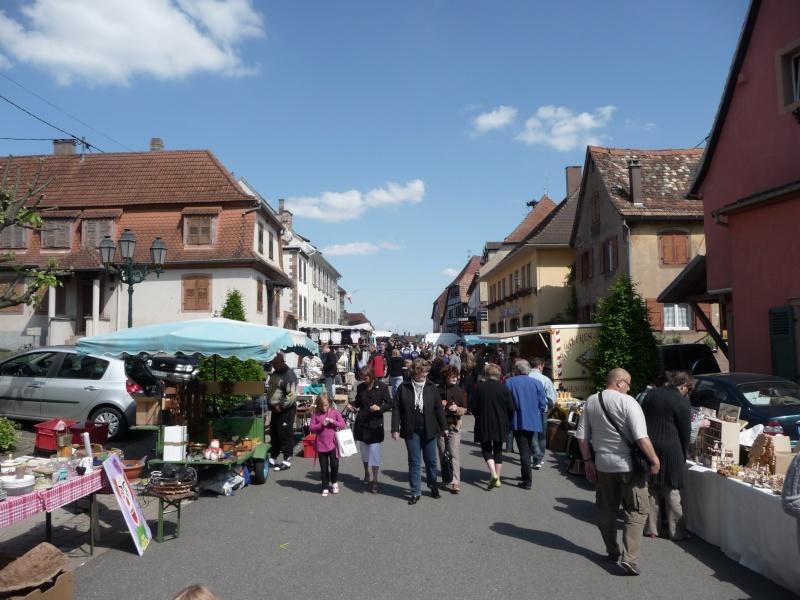 Marché aux puces du 13 mai 2012 à Westhoffen P1080616