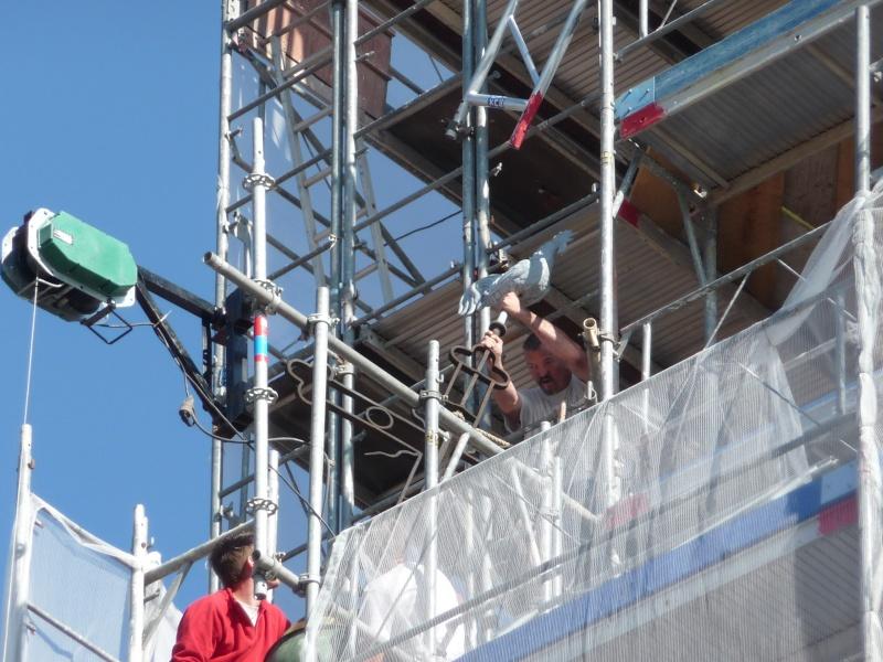 Le chantier de restauration de l'église simultanée de Wangen ... P1080810