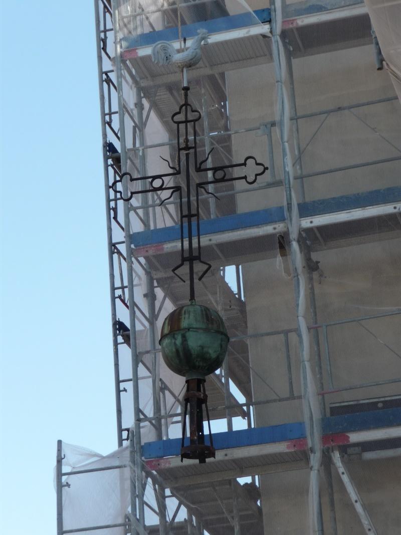 Le chantier de restauration de l'église simultanée de Wangen ... P1080816