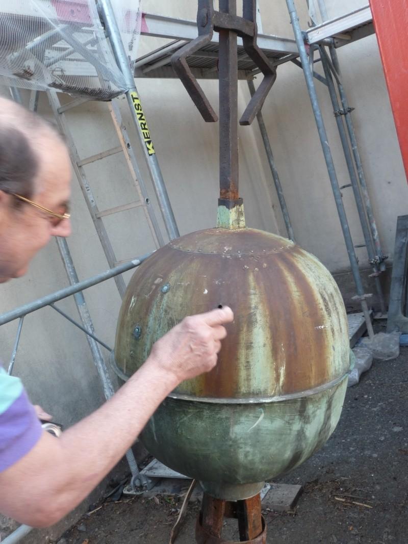 Le chantier de restauration de l'église simultanée de Wangen ... P1080819