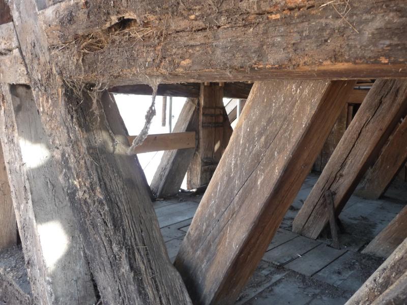 Le chantier de restauration de l'église simultanée de Wangen ... P1080826