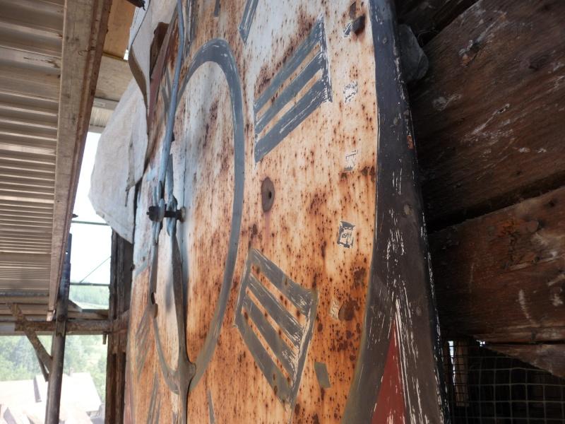Le chantier de restauration de l'église simultanée de Wangen ... P1080831