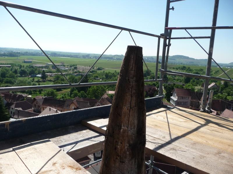 Le chantier de restauration de l'église simultanée de Wangen ... P1080913