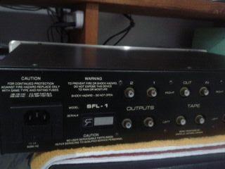 Sonic Frontier SFL-1 Preamplifier (Used) 2011-119