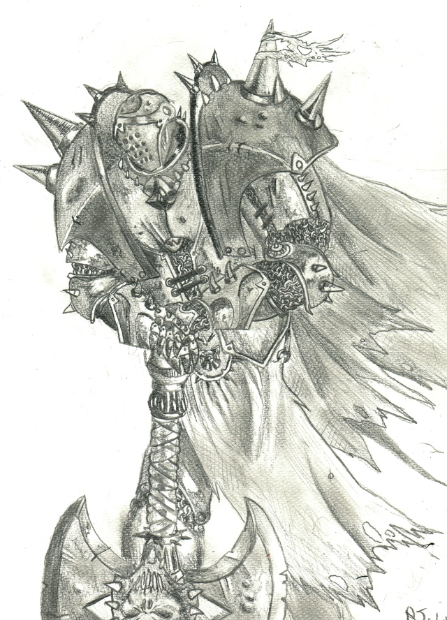 [Rubrique Dessins] - Page 2 Knight10