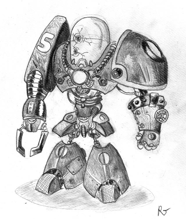[Rubrique Dessins] - Page 2 Robot10
