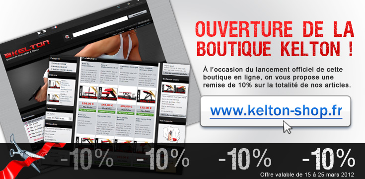 fitness - KELTON- appareils de musculation et fitness - Page 9 Kelton10