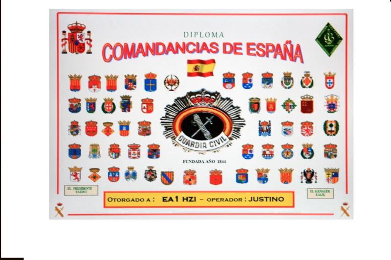 Fotocomposición del Diploma COMANDANCIAS GUARDIA CIVIL Diplom11
