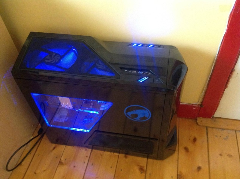 My PC build is nearly done 8a7bec10