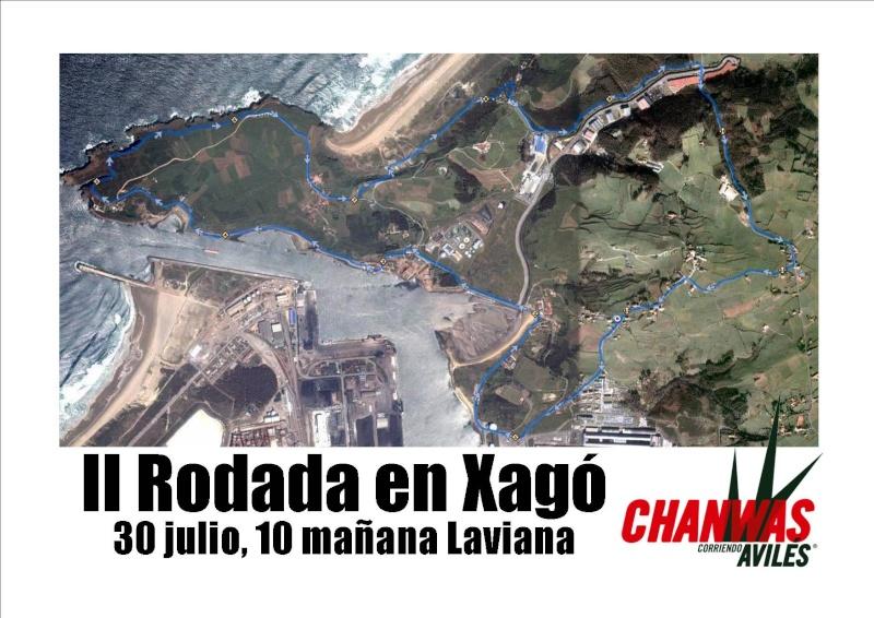 II Rodada en Xagó 30 de julio 10 de la mañana Cartel10