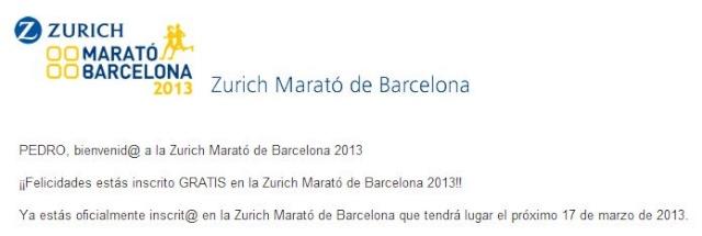 Maratón de Barcelona 17 de marzo 2012 Marato10