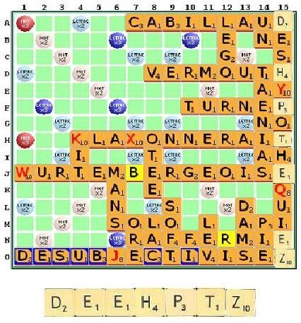 Enigme 10 - résolue Scrabb10