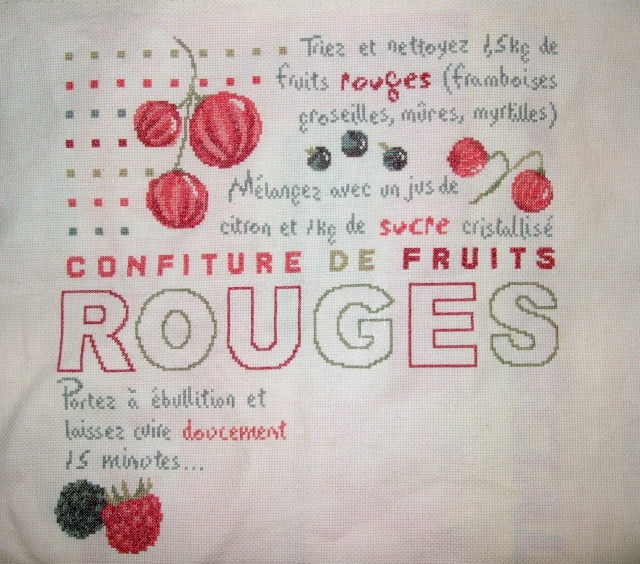 Confiture de fruit rouges de LLP Dscf1338