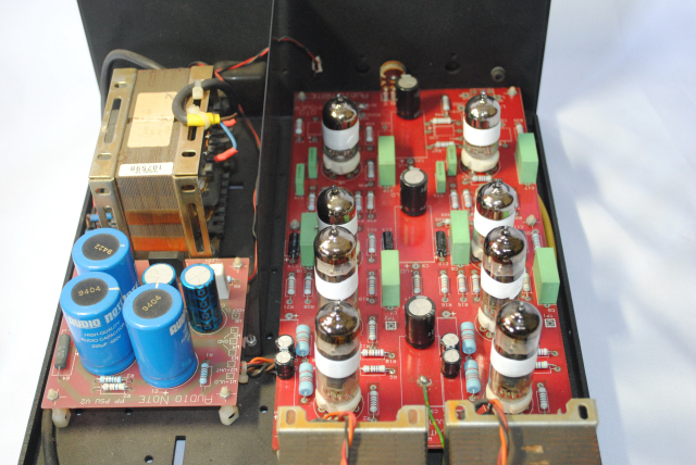 Audio Note P 1  tube power amplifier (used)sold Dsc_3528