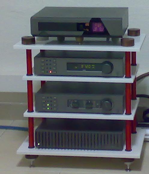 DIY hifi rack Rack10