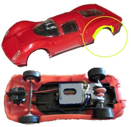 Ferrari 330 P4 Scalextric C16 P4_c1610