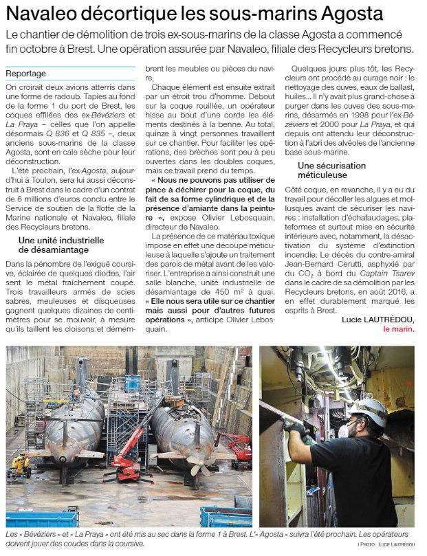 [Autre sujet Marine Nationale] Démantèlement, déconstruction des navires - TOME 2 - Page 13 15154710