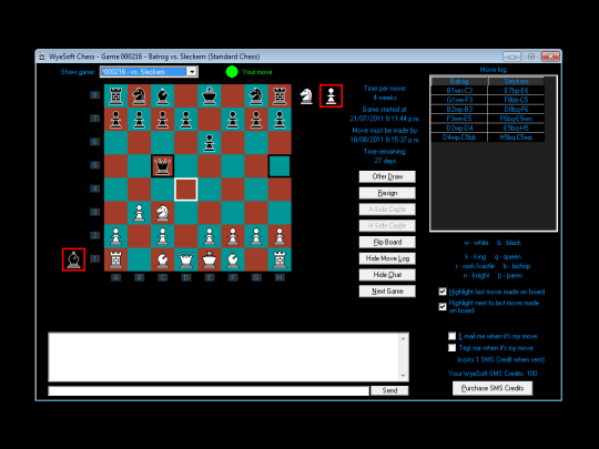 WyeSoft Chess 95204e10