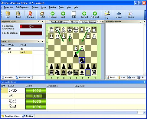 Chess Position Trainer 4 - Beta 1.5 is available Mainge10