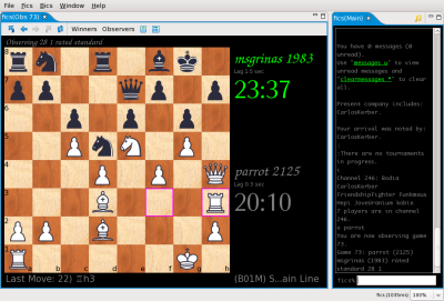 Raptor Chess Interface Raptor10