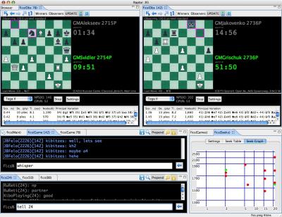 Raptor Chess Interface Raptor11