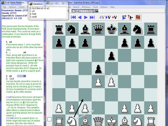 Scid vs Pc 4.5 (windows beta) is available Screen33