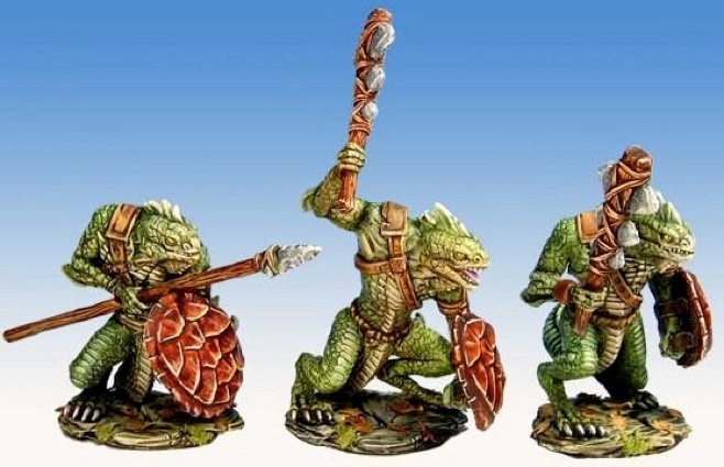 lizardmen - Lizardmen warband Lizard10