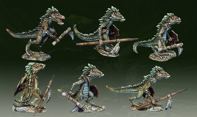Lizardmen warband Trogs_10