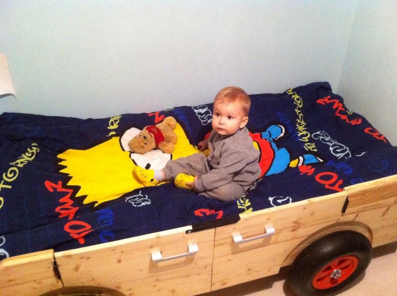 TUTO lit de grand pour enfant 3110