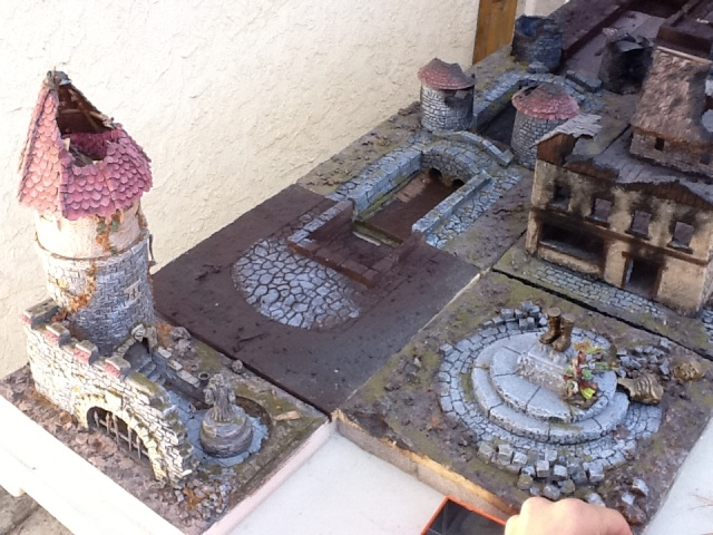 MY TOWN, or TABLE, or WIP TABLE TOWN.... Img_0034