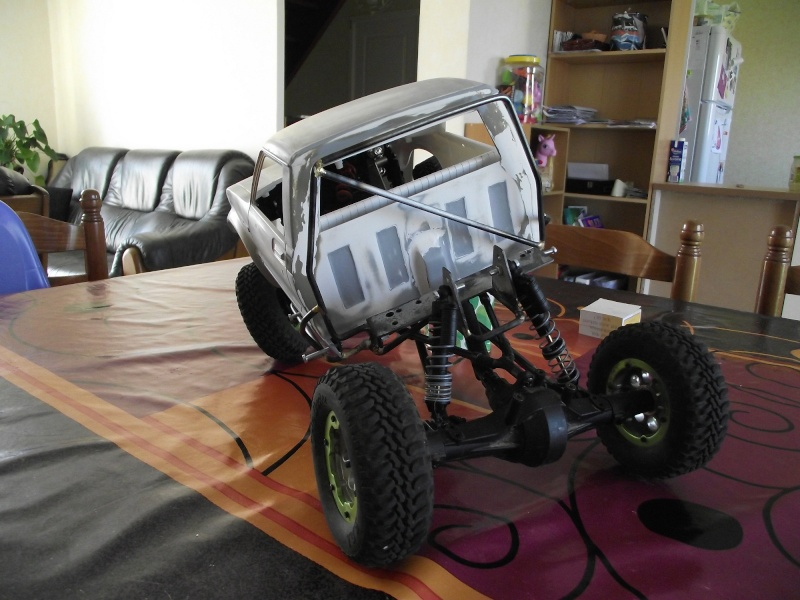 [ SCX10 Axial ] Un Truggy Hilux made in Normandie Dscf1014