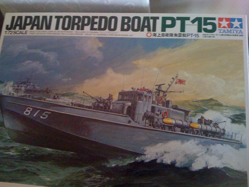 pt 15 torpedo boat 1/72 tamiya  Img_1015