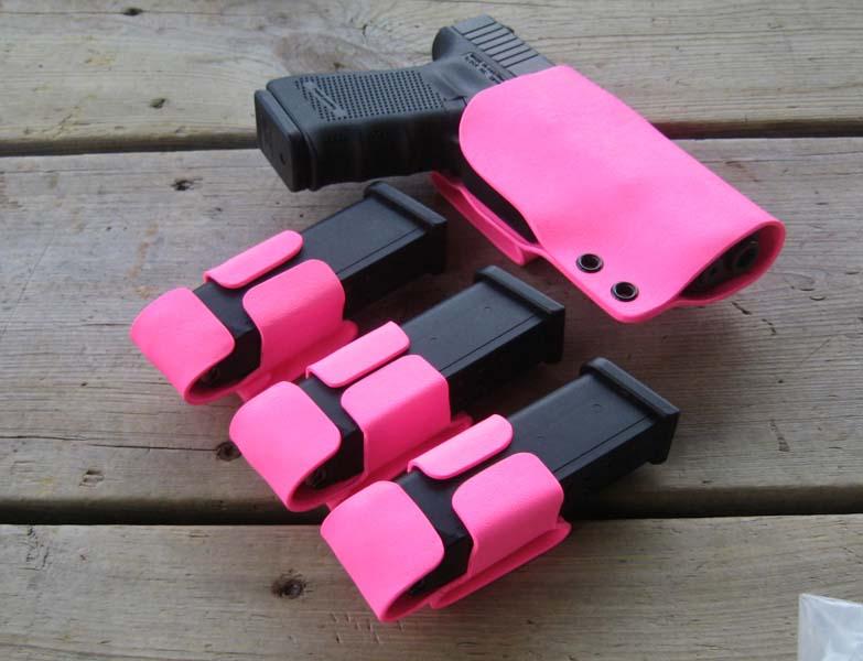 Equipements de tir de loisir non tactical. Pink-g10