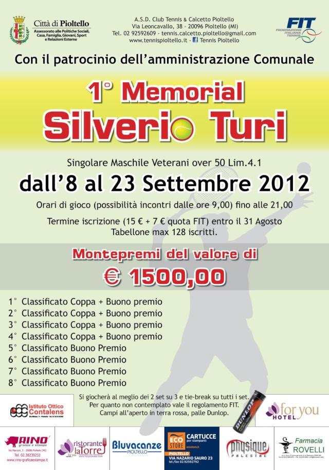 1° Memorial Silverio Turi - Pioltello, 8-23 settembre 2012 Piolte12