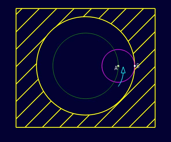 Correction vitesse d'avance pour perçage en spirale / filetage Cb_fee11