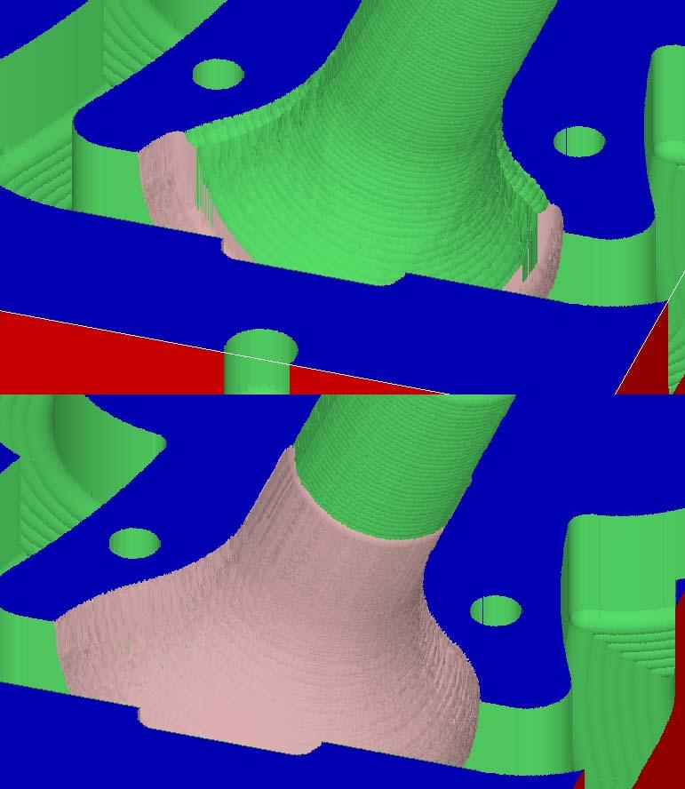 Usinage 3D profond: Réalisations et Paramétrages CAMBAM sur MDF - Page 3 Fini110