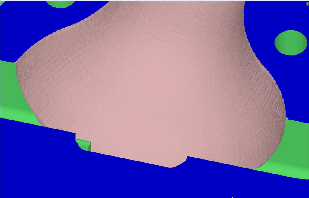 Usinage 3D profond: Réalisations et Paramétrages CAMBAM sur MDF - Page 3 Fini310