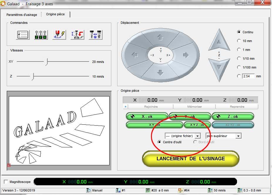 Usinage 3D profond: Réalisations et Paramétrages CAMBAM sur MDF - Page 6 Galaad11