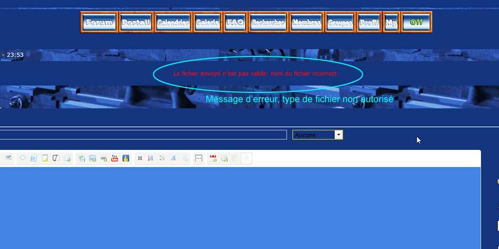 Ajouter une pièce jointe à un message Pj410