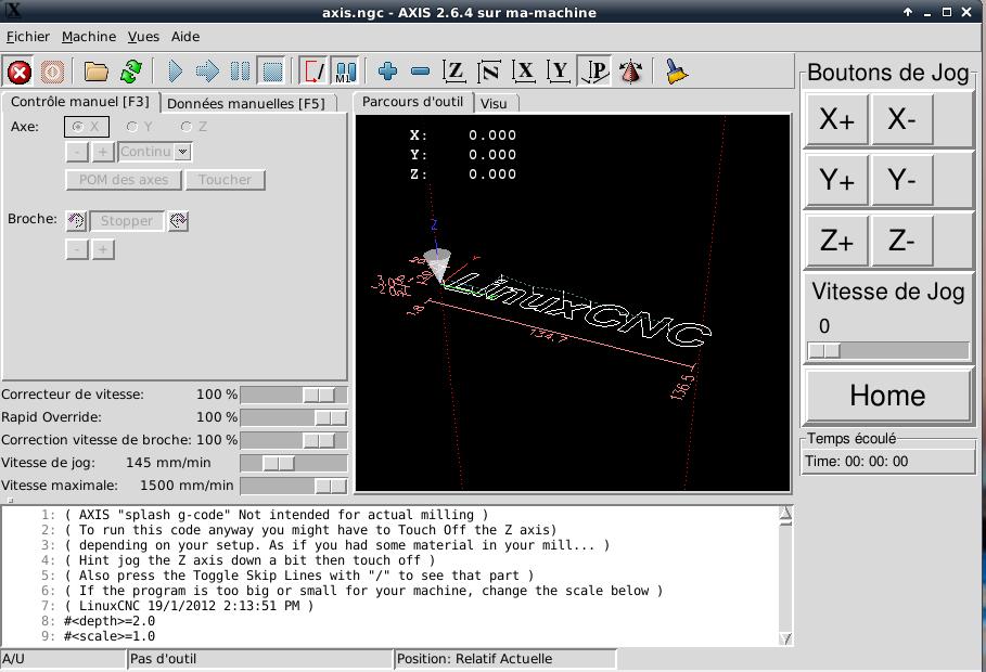 [tutoriel]Presentation et installation de LinuxCNC Pyvcp10