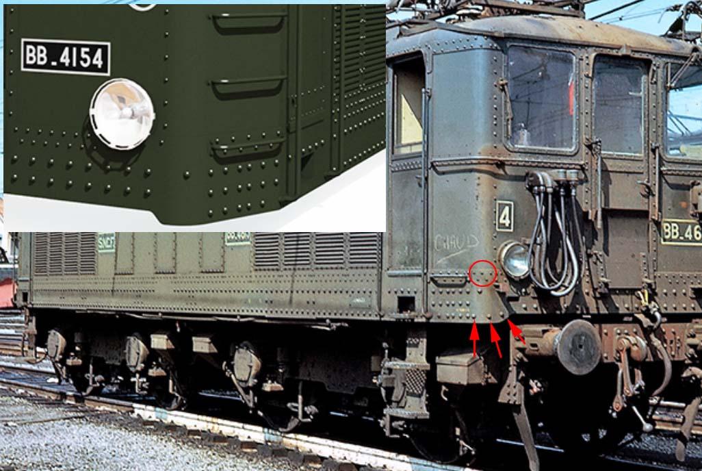 Locomotive électrique BB 4100/4600 SNCF ex MIDI en zéro. Sans_153