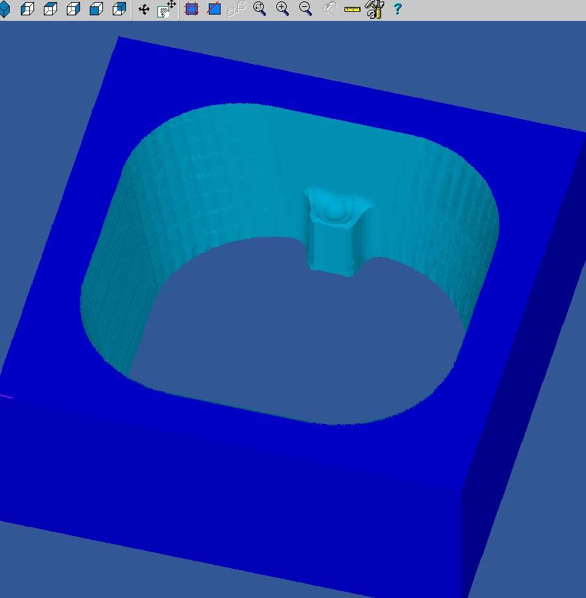 pièce prismatique avec une partie intérieure conique  Sans_t17