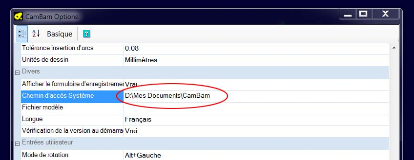 license cambam Sys10