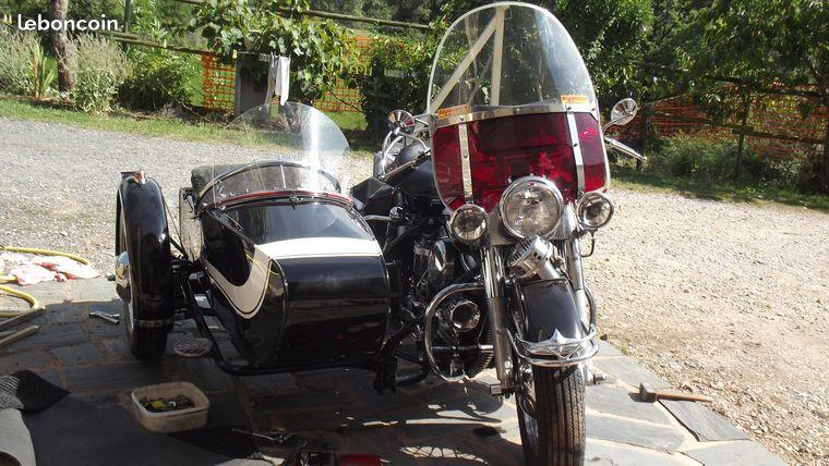 Les SIDE-CAR HARLEY et INDIAN 47d0c010